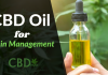 CBD Oil for Pain Management