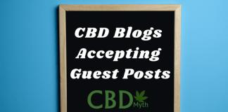 CBD Blogs Accepting Guest Posts